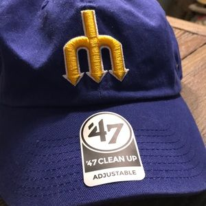 online retailer 75b98 ae5fd 47 Cleanup Accessories - 47 Cleanup Seattle Mariners  47 Cooperstown Hat